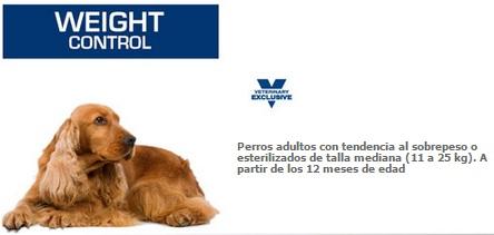 weight cont medium dog
